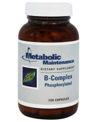 B-Complex Phosphorylated 100 Capsules Metabolic Maintenance